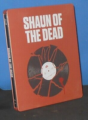Shaun of the Dead (Blu-ray Disc, 2014, Limited Edition, Steelbook).