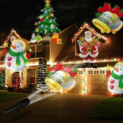Indoor&Outdoor LED Christmas Xmas Lights Festival Party Laser Decor UK Stock