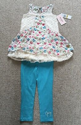 Juicy Couture Toddler/Girls Top & Leggings Set. Size 3T / 3 Years. BNWT