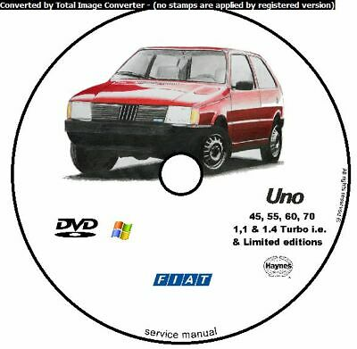 Officina Auto Manuale Fiat Cinquecento 93-98 K a R H3501 Haynes Owners