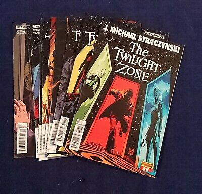 THE TWILIGHT ZONE Lot of 10 comics. Issues 1, 2, 3, 5, 6, 7, 8, 10, 11 and 12.