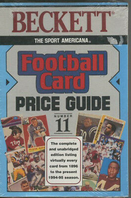 Book - Beckett Football Card Price Guide 11  NFL Trading cards