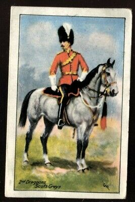 Tobacco Card, James Illingworth, CAVALRY, 1924,2nd Dragoons Royal Scots Greys,#3