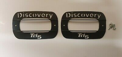 New Powder Coated Discovery Td5 disco 2 98-04 Indicator side repeater Guards