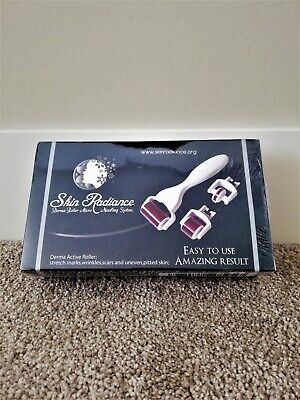 Skin Radiance Derma Roller Micro Needling System 3-in-1 (Brand New)