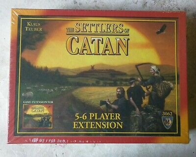 The Settlers of Catan Board Game 4th Edition [5-6 Players Extension] NEW SEALED