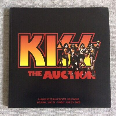 Kiss The Auction + Photos Gene Simmons Paul Stanley Ace Frehley Peter Criss