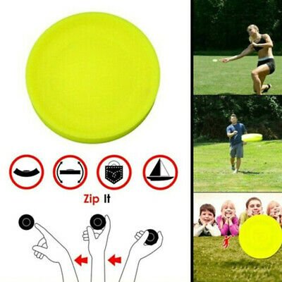Mini Pocket Flexible Soft New Spin in Catching Game Flying Disc U~GN