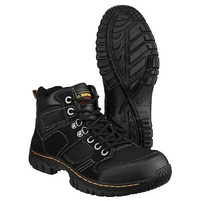 Mens Dr Martens ICON 6735 Black Smart Steel Toe Safety Work Shoes Sizes 7 to 15