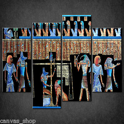 The Ancient Egyptian Papyrus Cascade Canvas Print Art Picture Ready To Hang