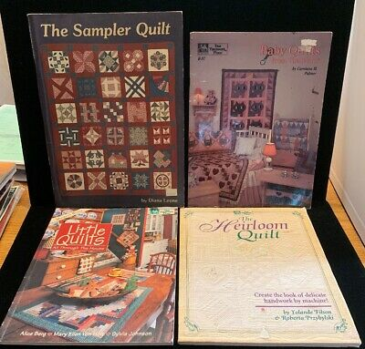 4 Quilting Books: The Heirloom Quilt, Baby Quilts , And More! (BK12)