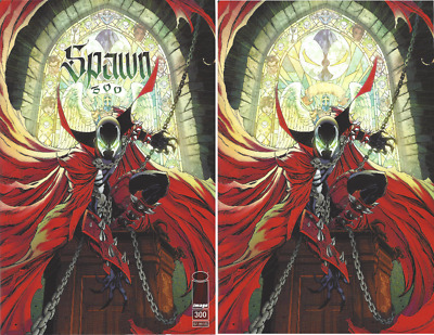SPAWN #300 Cover G J. Scott Campbell Variant SET 2019 NEAR MINT Image Comics 🔥