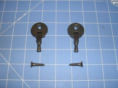 Antique Singer Sewing Machine Mounting Hinges - Free Shipping -