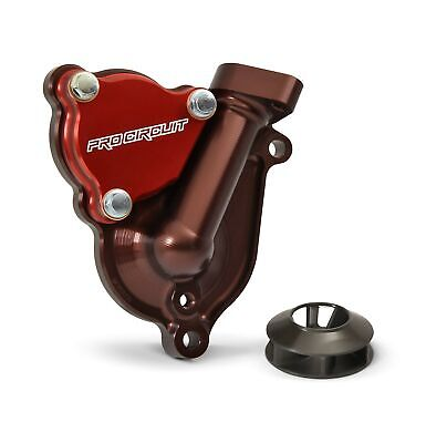 Pro Circuit WPK17250 Water Pump Cover W/Impeller MX High Flow