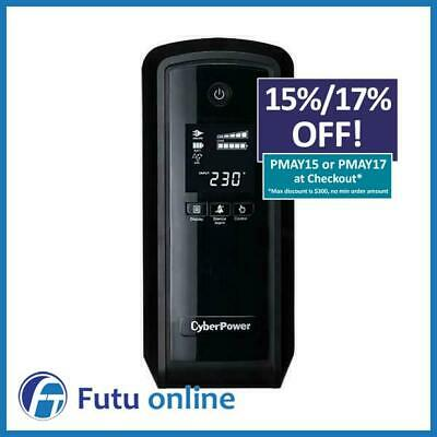 CyberPower PFC 900VA UPS 6 Outlet Surge Protect Uninterruptible Power Supply