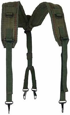 Military Outdoor Clothing Previously Issued US GI OD LC-2 Nylon Suspenders xx -L