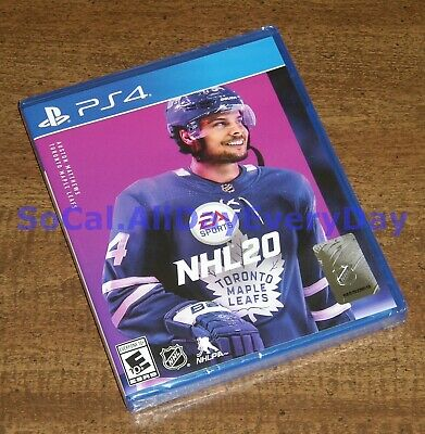 NHL 20 (PlayStation 4) ********BRAND NEW & FACTORY SEALED******** ice hockey ps4