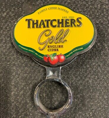 THATCHERS GOLD ENGLISH CIDER Beer Tap Top Australian