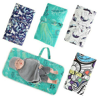 Breathable Baby Change Diaper Pad Toddler Changing Mat Covers Travel Waterproof
