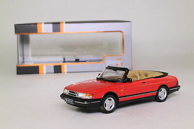 Premium X PRD377; 1991 SAAB 900 Monte Carlo Open Cabriolet; Red; Excellent Boxed
