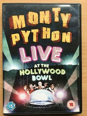 Monty Python Live At The Hollywood Ciotola DVD 1982 Commedia Concerto con John