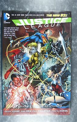 Justice League Vol 3 Throne of Atlantis - DC - Graphic Novel #ND