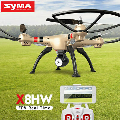 SYMA X8SW RC Drone With HD Camera Wifi FPV Remote Control 2.4 Ghz Helicopter