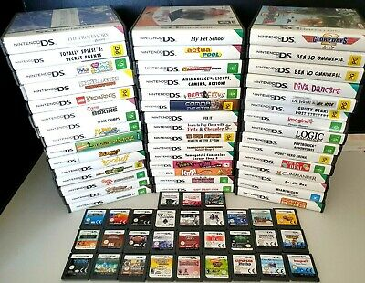 Nintendo DS Games CHOOSE YOUR OWN TITLE Also Playable on 2DS / 3DS / DSi / XL's