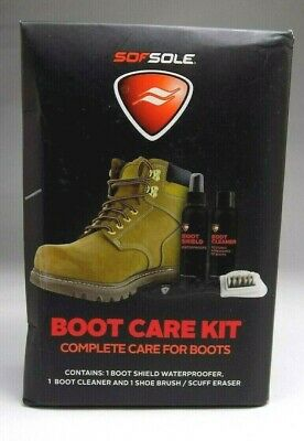 Sofsole Boot Care Kit Complete Care For Boots Brand New Damage Box #502