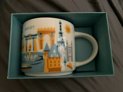 Starbucks You Are Here Collection Disney Epcot Mug World Showcase version