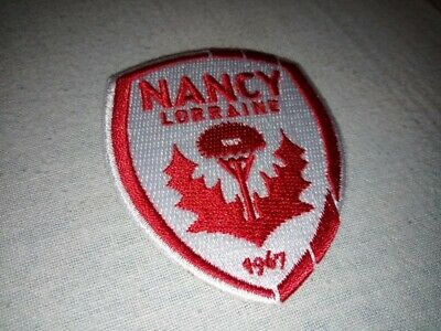 Logo relief foot Nancy ASNL 2018 2019 pour maillot patch - Ligue 2