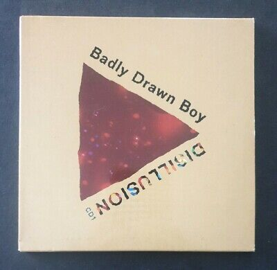 BADLY DRAWN BOY - 'Disillusion' 2000 CD Single