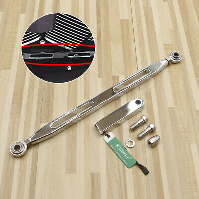 Chrome Shift Linkage Shifter For Harley Tour Road Wide Glide Softail Touring