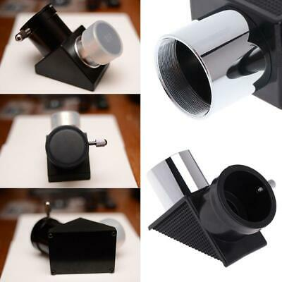 1.25'' Zenith 90 Degree Mirror Monocular Telescope Diagonal Mirror for Astronomy