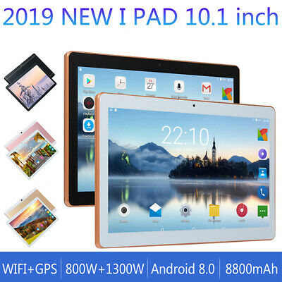 """10"""" Inch Tablet PC Android 8.0 Octa-Core 8G+64G Google WIFI Dual SIM Camera GPS"""