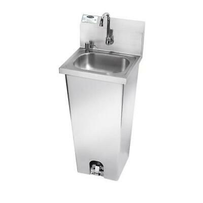 Krowne - HS-14 - 17 in Pedestal Base Hand Sink With Faucet