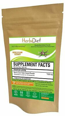 Devil's Claw Extract Powder 5% Harpagoside Harpagophytum Arthritis Support 200g