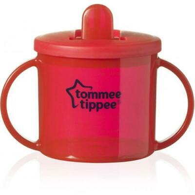 Tommee Tippee Free Flow First Cup Essentials 4m+ Red 190ml