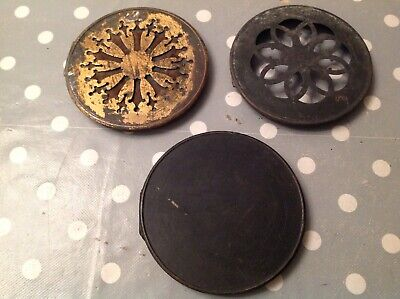 Antique Clock Case Back Door Collection Solid Brass Spare Part 112 115 116mm