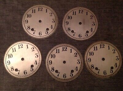 Newbridge Clock Dial Face 12.99 Each 5 Available Clockmakers  Spare Parts 110mm