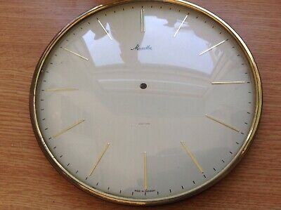 Vintage Mauthe Mantle Clock Bezel Face And Glass 170mm Diam.