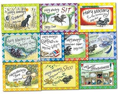 Hairy Maclary and Friends Collection Lynley Dodd 10 Books Set Pack PB NEW