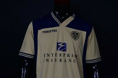 2013-14 Macron Leeds United FC Away  Shirt SIZE XL (adults)