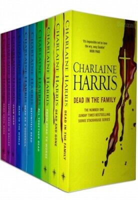 Sookie Stackhouse Series True Blood 10 Books Collection Set by Charlaine Harris