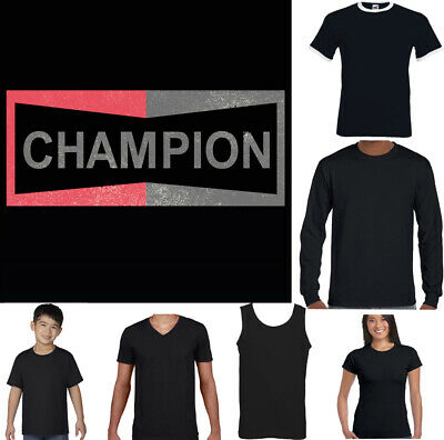 CHAMPION T-SHIRT Mens Once Upon a Time in Hollywood Brad Pitt Ladies Womens Kids