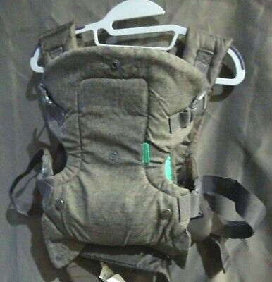 Infantino Flip 4-in-1 Convertible Baby Carrier Gray