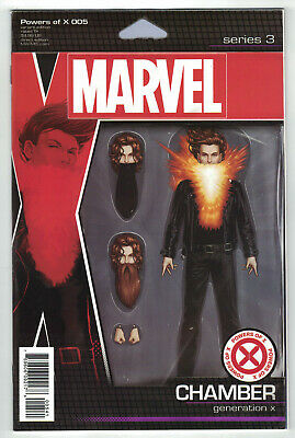 Powers of X #5 Christopher Action Figure Variant Chamber X-Men Marvel 2019