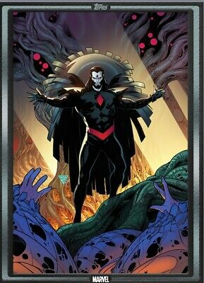 Topps Marvel Collect POWERS OF X #5 SILVER COMIC BOOK DAY 2019 [DIGITAL]