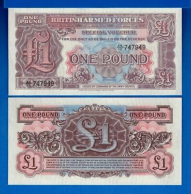 Great Britain M-47 M-48 M-49 Uncirculated Banknotes Set # 2
