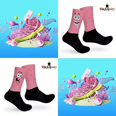 Kyrie SpongeBob Patrick Customized Socks